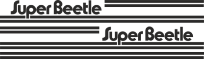 Super Beetle Side Stripe Kit